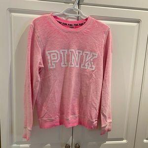 Pink Ladies Crewneck Sweatshirt Size XS